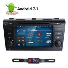 Android 7.1 Car DVD GPS Navi Radio For Mazda 3 2004 2005 2006 2007 2008 2009+Cam
