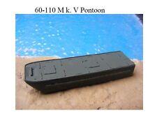 MGM 060-110 1/76 and 1/72 Resin WWII Mk. V Pontoon (barge) -full depth