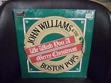 John Williams & The Boston Pops We Wish You A Merry Christmas vinyl LP VG+ 1960