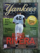 Yankees Magazine Rivera Cover May 2007 Jeter Poster MLB Baseball New York