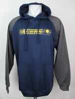 Indiana Pacers NBA Majestic Men's Big & Tall Navy Pullover Hoodie