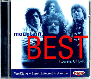 ZOUNDS - MOUNTAIN - Flowers of Evil - Best - rare audiophile CD 2000