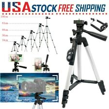 """39.4"""" Wireless Camera Cell Phone Tripod Stand Holder Mount for iPhone 11 Samsung"""