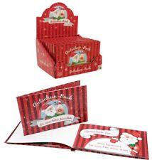 Weihnachtsbuch mit 12 Gutscheinen - heraustrennbare Geschenkgutscheine