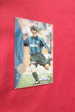 Figurina INTER CARDS 2000 DS n. 52 RECOBA FIGURINA SPECIALE SENZA AUTOGRAFO