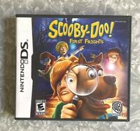 Scooby-Doo First Frights Nintendo DS Complete w/ Manual TESTED Fast Ship! VG