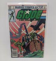G.I. Joe A Real American Hero #12 (Marvel Comics, 1983) Cobra Newsstand