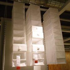 Ikea Skubb Hanging Clothes Closet Storage Shoes Organizer Rack White, New