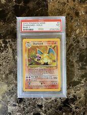 2000 Pokemon Base Set 2 WOTC Charizard Holo #4 PSA 7 NM
