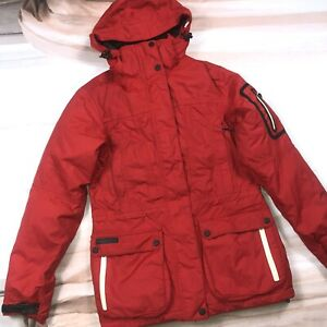 McKinley Red Dawn And Feather Quality Winter Snowboard Jacket Coat Size Small