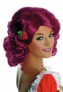STRAWBERRY SHORTCAKE Wig SALON QUALITY Secret Wishes RED Halloween Costume