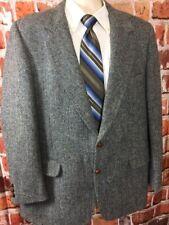 Harris Tweed Mens Scottish Wool Blazer Sport Coat Sz 44 Long (t6)