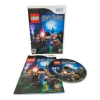 Harry Potter Years 1-4 W Manual Nintendo Wii Game