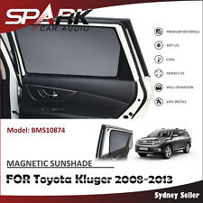 CT MAGNETIC CAR WINDOW SUN SHADE BLIND MESH REAR DOOR FOR Toyota Kluger 2008-13