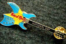 HRC Hard Rock Cafe Stockholm National Day 2001 BC Rich Guitar LE