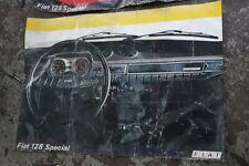 FIAT 128 SPECIAL ORIGINAL DEALER POSTER 96 X 76
