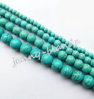 100% Real Natural Turquoise Gemstone Spacer Loose Beads Charms Stone Findings