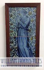 William Morris juglares Grabadora Hecho a Mano 2 Panel de azulejos Horno despedido