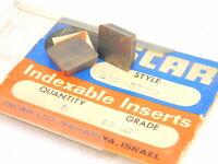 New Surplus 5pcs. ISCAR  SPC 53EDFR Grade: IC20 Carbide Inserts