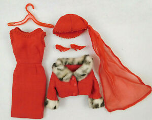 VINTAGE 1960's MATTEL BARBIE MATINEE FASHION #1640 OUTFIT