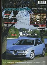 (9A)REVUE TECHNIQUE CARROSSERIE ALFA ROMEO 156