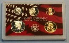 2006 S Partial Silver Proof Set- SAC, Kennedy, Cent +++