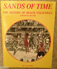 SANDS OF TIME, THE HISTORY OF BEACH VOLLEYBALL, 1895 - 1969 BOOK, ART COUVILLON