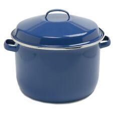 Norpro 588 Porcelain Enamel 18 Qt Canning Stock Lobster Crab Pot With Lid Blue