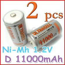 2 D 11000mAh Ni-Mh 1.2V rechargeable battery ULTRACELL