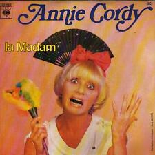 "7 "" PS RECORD SINGLE 45 -  ANNIE CORDY - LA MADAM / LES LAPONS"