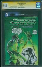 Green Lantern 13 CGC 2XSS 9.8 Neal Adams Variant 76 Homage Original art Sketch