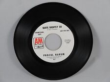 Procol Harum - In The Wee Small Hours Of Sixpence 45 White Label