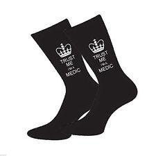 Keep Calm soy un médico para Hombre Calcetines Divertido Novedad calcetines que O Cumpleaños
