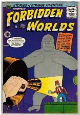 FORBIDDEN WORLDS #85 1960 EARLY SILVER AGE NICE!