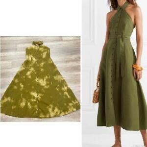 Mara Hoffman Rosemary Halter custom Tie Dye dress X Large Tencel
