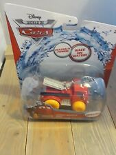 """DISNEY PIXAR CARS RACE ON WATER OR LAND  DELUXE  """"HYDRO WHEELS RED"""". NEW"""