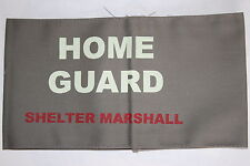 WW2 HOME FRONT REENACTMENT HOME GUARD SHELTER MARSHALL ARMBAND QUALITY COPY #2