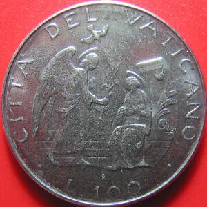1987 VATICAN 100 LIRE JOHN PAUL II ANGEL BLESSED VIRGIN MARY THE ANNUNCIATION