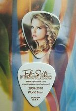 TAYLOR SWIFT 2009-2010 World Tour guitar pick - NEW UNREAL OFFER!