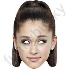 Ariana Grande Cantante Celebrità Maschera di carta-tutte le nostre Maschere sono pre-tagliati!