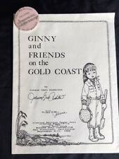 Ginnny and Friends Paper Dolls (1988 Convention) Johanna Anderton, AUTOGRAPHED