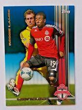 2013 Topps MLS Blue Parallel Reggie Lambe #31/50