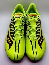 New Saucony Racing Spitfire Track Shoes With Spikes, Size 12.5 USA S29018-3