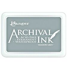 RANGER ARCHIVAL INK PADS WATERPROOF PERMANENT INK PAD ACID FREE STAMP PADS!