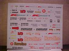 Indy Car #5 Havoline Decal Set