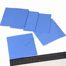 100x100x3mm GPU PS3 PS2 XBOX 360 Heatsink Compound Conductive Thermal Pad Blue