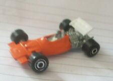 Barlux Italy 1:68 small #2 orange racer diecast 1970s