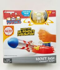 Launch into Air-Powered Exploration. Rocket bash Experiment Playset & SpaceMan