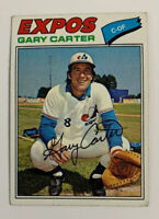 1977 Gary Carter # 295 Montreal Expos Topps Baseball Card HOF