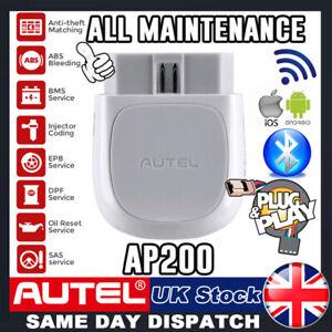 AUTEL OBD2 Scanner Bluetooth Car Fault Code Reader FULL System Diagnostic Tool